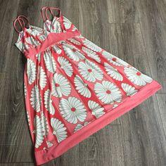 Johnny M Flower Power Strappy Sundress Dress