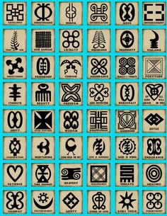"geddion: "" a—fri—ca: "" Adinkra symbols The Adinkra are visual symbols, originally created by the Ashanti of Ghana and the Gyaman of Cote d'Ivoire in West Africa, that represent concepts or aphorisms...."