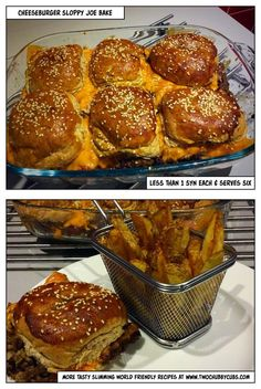 This cheeseburger sloppy joe bake is an interesting way to use up mince, and is so low in syns it's a perfect naughty dinner for Slimming World! Remember, at www.twochubbycubs.com we post a new Slimming World recipe nearly every day. Our aim is good food, low in syns and served with enough laughs to make this dieting business worthwhile. Please share our recipes far and wide! We've also got a facebook group at www.facebook.com/twochubbycubs - enjoy!