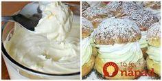"""5- minútový krém """"Univerzál"""": Perfektný do veterníkov, zákuskov, tort aj sladkých pohárov!"""