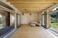 BILKA BARN Old barn renovation by a2f architects in Czech Republic.