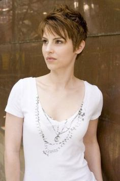 Hairstyles for Pixie Cuts 2013 Short Haircut for Women Sweets pixie cut… by Jenna Mouritsen