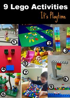 It's Playtime... LEGO - http://amomwithalessonplan.com/its-playtime-lego/