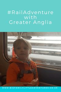 Join us on a #RailAdventure with Greater Anglia Trains - Big Family Little Adventures