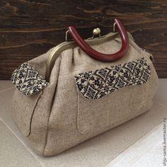 Купить Саквояж II - бежевый, однотонный, саквояж, саквояж женский, сумка…