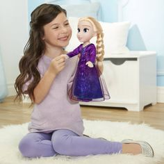 Superb Disney Frozen 2 Elsa Singing Doll Now at Smyths Toys UK. Shop for Disney Frozen At Great Prices. Free Home Delivery for orders over Toddler Dolls, Baby Dolls, Crocodile Craft, Light Up Dresses, Toy Story Figures, Toys Uk, Neue Outfits, Disney Frozen 2, Stone