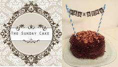 1/2 torradinha e um pingo: The Sunday Cake returns: Banana Boston Cream Cake