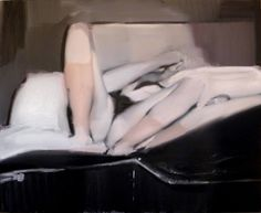 "Saatchi Art Artist Ales Brazdil; Painting, ""The Legs 1"" #art"