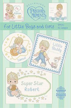 Designs by Gloria and Pat PM81 Wiggles And Giggles - Precious Moments Cross Stitch - 123Stitch.com