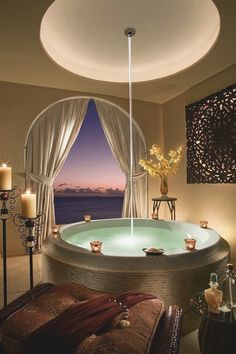 Take in the sunset in style. Relax in Cheeca Lodge & Spa's glorious tub. Luxury Bathtub, Bathroom Design Luxury, Modern Bathroom, Master Bathroom, Bathroom Designs, Bathroom Ideas, Bathroom Remodeling, Remodeling Ideas, Bathtub Designs