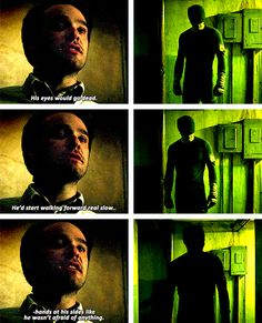That's how it is with the Murdock boys - the number of parallels in this show and the epicness of those parallels is too much Serie Marvel, Marvel Show, Marvel Dc, Marvel Comics, Netflix Marvel, Daredevil Punisher, The Daredevil, Daredevil Matt Murdock, Dc Movies