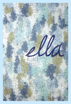 Swedish/Danish Girl Name: Ella. Meaning: All; Arabic Baby Girl Names, Baby Names, Swedish Names, Boutique Names, Hebrew Names, Name Inspiration, Classic Names, Name Games, Female Names