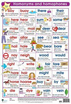 English Grammar: Infographic on 10 Confusing Homonyms and Homophones English Tips, English Words, English Lessons, English Grammar, Learn English, English English, French Lessons, Spanish Lessons, Learn French