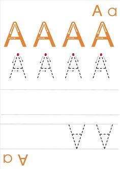 La maternelle de Laurène: fiches écriture majuscules / capitales