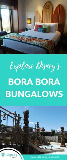 Explore Disney's Bora Bora Bungalows- #Disney's new #BoraBoraBungalows are definitely worth writing home about! So much to see! From the amazing views of the #SevenSeasLagoon and the Magic Kingdom, to the gorgeous #FrenchPolynesia style #villas, this #resort will leave you breathless! Disney Resort Hotels, Disney World Hotels, Disney Destinations, Hotels And Resorts, Florida Resorts, Disney Vacation Club, Disney Vacation Planning, Disney World Planning, Disney Vacations
