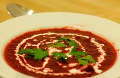 Beetroot Soup for Autumn Days