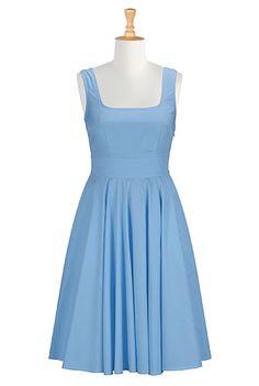 #eshakti #blue #bridesmaids #dresses #spring #summer