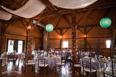 Amanda, one of our planners was at this venue awhile back as an attendant to a wedding... absolutely stunning!! wait till you see what they can do with a horse drawn carriage leading to the outdoor ceremony site.