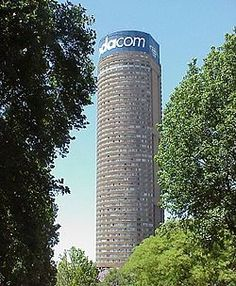 Discover Ponte Tower in Johannesburg South, South Africa: Tallest residential building in Africa is an unsettling Brutalist monolith. Places Around The World, Around The Worlds, Johannesburg City, Live, South Africa, Landscape Photography, Scenery, Buildings, Architecture
