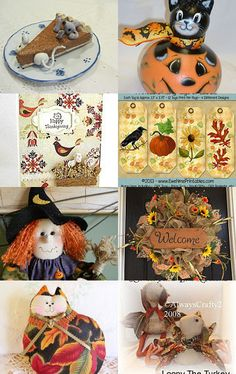 Handmade and Heartfelt Artists Team Treasury - Dreaming of Autumn!!! by Pearce's Craft Shop on Etsy--Pinned with TreasuryPin.com