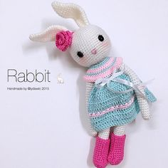 My crochet animal @ Rabbit - Part 2