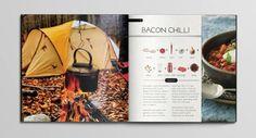 Backyard Cooking by C. Zgierski; recipe design inspiration