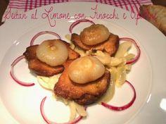 Cucinando tra le nuvole: Seitan al Limone con Finocchi e Cipolline