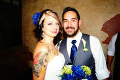 Bride and Groom at The Cotton Mill