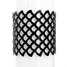 Urban Lace Innertube Siren Bracelet from Recycled Bicycle Inner Tubes Size M UL-Siren