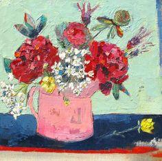 Lara Bowen. May II. Oil on canvas. 30x30cm. £575. Fourwalls Contemporary