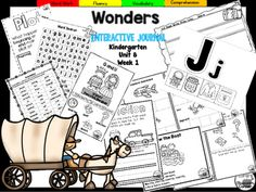 "This+27+page+Kindergarten+interactive+journal+is+aligned+to+Common+Core+and+to+the+McGraw+Hill+Wonders+series+for+Unit+7-Week+3.+Complete+Set+Includes:Mini+Anchor+Chart/Activities+for+Letter+""Jj""+and""Qq"",+Plot,Compare+and+Contrast,+and+Genre+(Fiction)Handwriting+PracticeCut+and+Paste+Graphic+Organizers++Build+It!"
