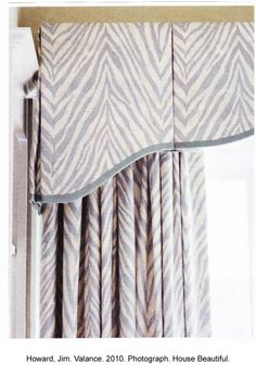 Banded box pleat- tailored but interesting.