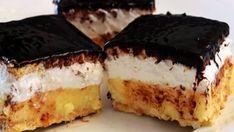 """Tento rýchly dezertík """"Sladky sen"""" som raz vyskúšala a odvtedy ma deti prosia, aby som ho robila znova a znova. - Recepty od babky Tiramisu, Ale, Cheesecake, Food And Drink, Ethnic Recipes, Google, Cake, Cheese Cakes, Ales"""