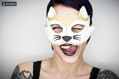 Mask Pretty Kitty  Cat