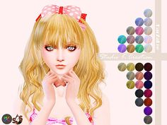 Animate hair 65 Rika at Studio K-Creation • Sims 4 Updates