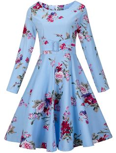 SHARE & Get it FREE | Flower Print Zippered Retro DressFor Fashion Lovers only:80,000+ Items • New Arrivals Daily • Affordable Casual to Chic for Every Occasion Join Sammydress: Get YOUR $50 NOW!