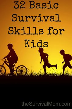 basic survival http://thesurvivalmom.com/32-basic-survival-skills-kids/