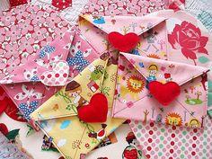 You've Got Mail Moda Bake Shop Pattern Teacher Valentine, Valentine Wreath, Valentine Day Love, Valentine Day Crafts, Vintage Valentines, Printable Valentine, Homemade Valentines, Valentine Ideas, Fabric Crafts