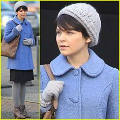 Cute short hair with the cute hat! Mary Margaret Style fcf94cc83f4