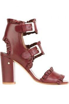 Laurence Dacade Ruffled Buckle Strappy Sandals https://modasto.com/laurence-ve-dacade/kadin-ayakkabi/br3596ct13 #modasto #giyim