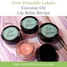 Got dry, chapping lips? Treat your lips to this all natural, homemade lip balm. I...