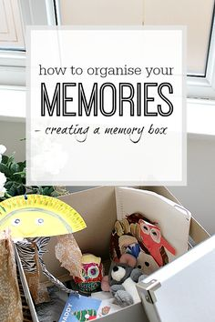 How a memory box is the best way to store all your memorabilia - tips and tricks