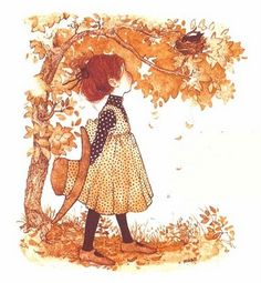 Holly Hobbie, reminds me of Anne of Green Gables