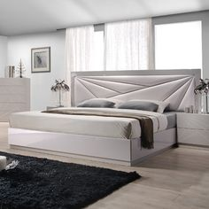 Modern Platform Bed with Long Beige Leather Headboard Sides Indianapolis Indiana [JMFLO] : Prime Classic Design, Italian modern furniture: luxury designer and genuine leather sectionals, dining room and bedroom sets distributor Platform Bedroom, Modern Platform Bed, Upholstered Platform Bed, Modern Master Bedroom, Contemporary Bedroom, Fancy Bedroom Sets, Taupe Bedroom, Fall Bedroom, Bedroom Boys