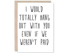 Funny Co-Worker Card- BLANK CARD, Work Anniversary, Card for Boss, Card for staff, card for co-worke - Broschüre Design Colleagues Quotes, Thank You Quotes For Coworkers, Funny Thank You Quotes, Goodbye Quotes For Coworkers, Funny Quotes, Work Friends Quotes, Work Quotes, Daily Quotes, Life Quotes
