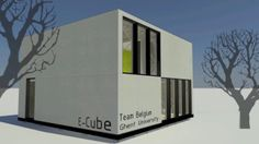 Animated Video Walkthrough E-Cube - Team Belgium Ghent University. Animated Video Walkthrough of the E-Cube. This house is being developed, ...