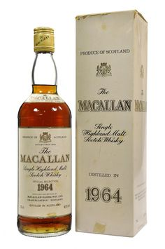 Macallan 1964 Sherry Cask. Rare, exceedingly rare and probably about $40,000.