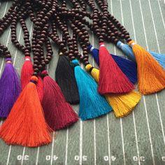 Gameday Tassel Necklaces   School Colors