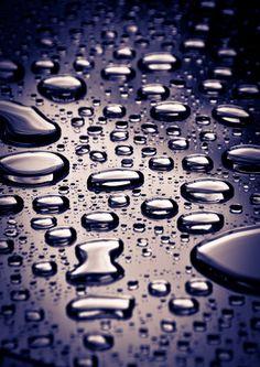 """Raindrops I"" by Bjorn Christian Finbraten"