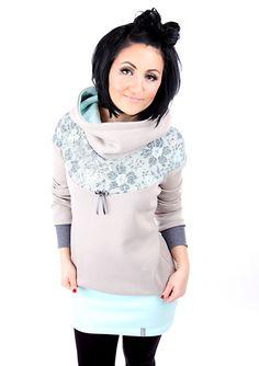 Entdecke lässige und festliche Kleider: MEKO Flory Kleid Nude Damen langarm Spitze made by meko Store via DaWanda.com